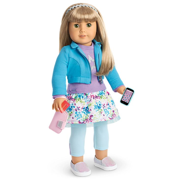 Boneca American Girl Truly Me Doll #52 + Truly Me Accessories