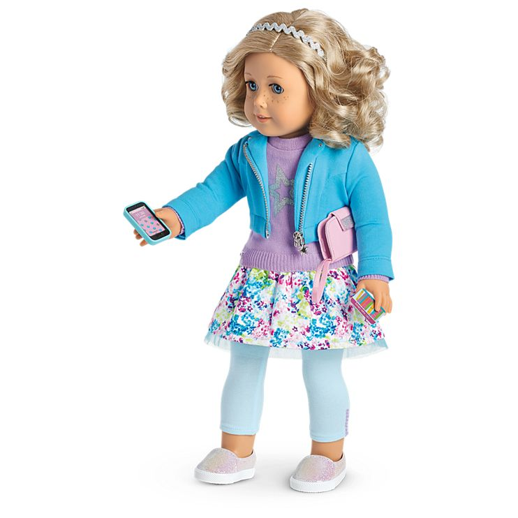 Boneca American Girl Truly Me Doll #56 + Truly Me Accessories