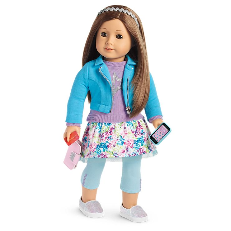 Boneca American Girl Truly Me Doll #59 + Truly Me Accessories
