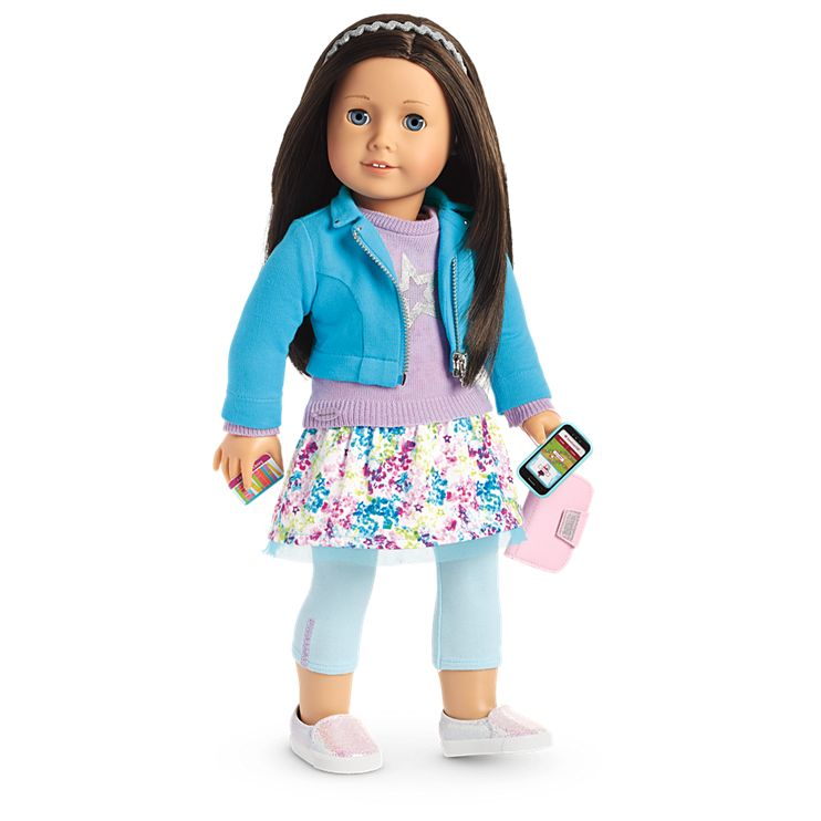 Boneca American Girl Truly Me Doll #60 + Truly Me Accessories