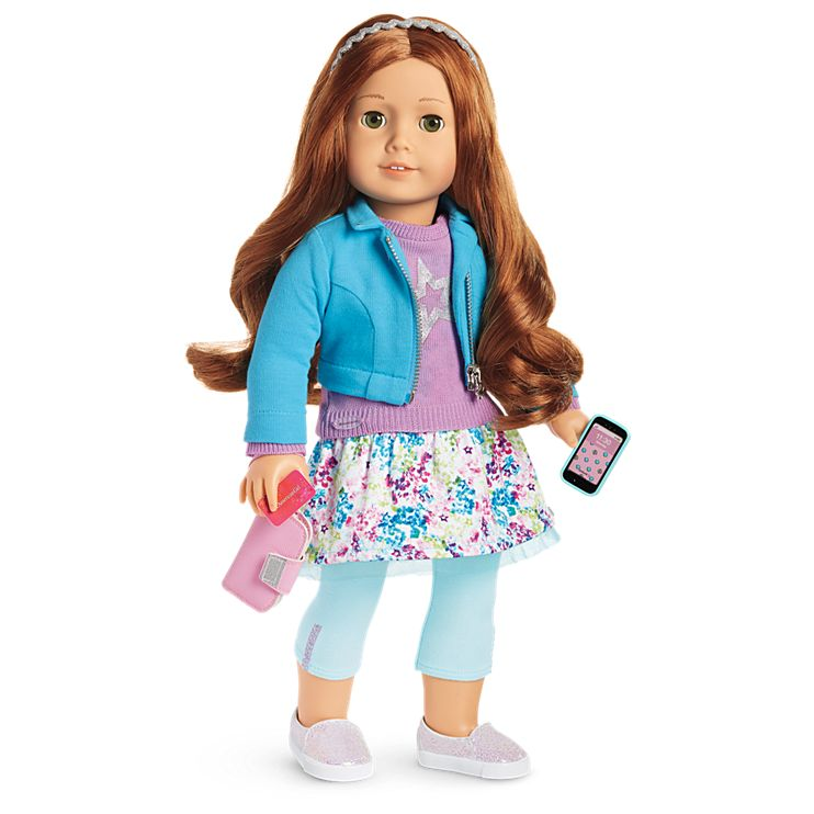 Boneca American Girl Truly Me Doll #61 + Truly Me Accessories