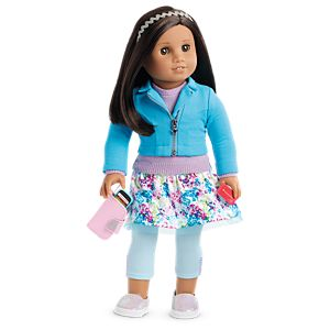 Boneca American Girl Truly Me Doll #62 + Truly Me Accessories