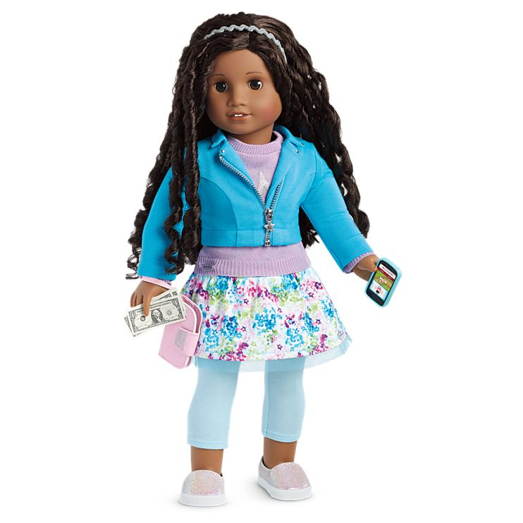 Boneca American Girl Truly Me Doll #67 + Truly Me Accessories