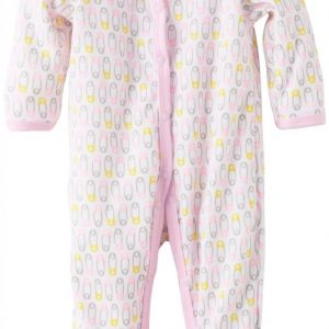 MACACAO CALVIN KLEIN BABY-GIRLS STRETCHY COVERALL 3-6MESES