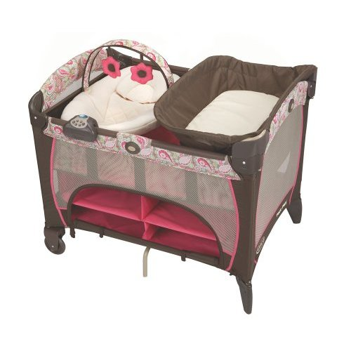 BER?O GRACO PACK' N PLAY WITH NEWBORN NAPPER JACQUELINE