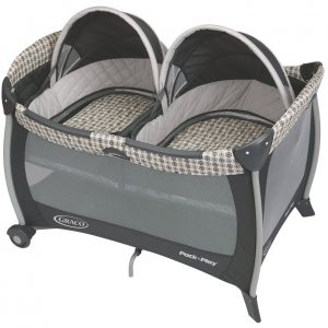BER?O GRACO PACK' N PLAY WITH TWINS BASSINET - VANCE