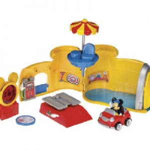 FISHER PRICE GARAGEM DO MICKEY - MICKEY MOUSE CLUB HOUSE