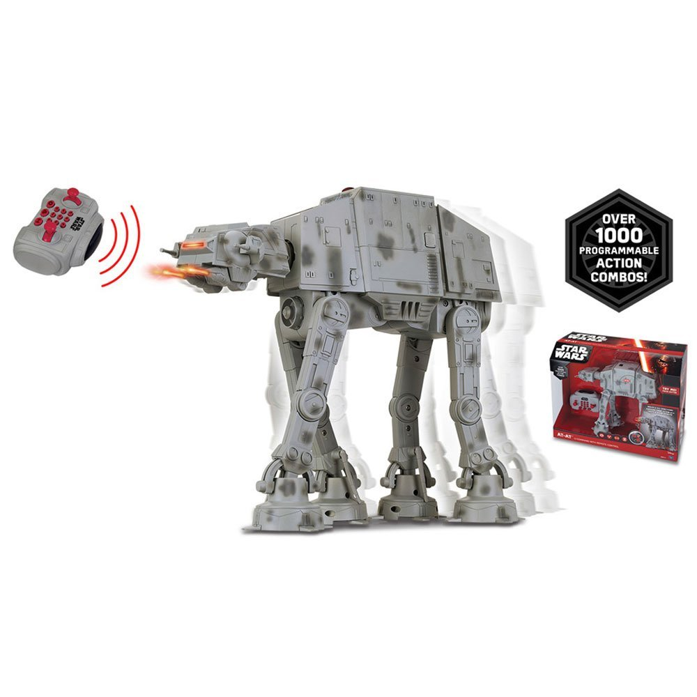Ve?culo com Controle Remoto U-Command - Star Wars - At-At - Toyng