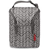 Bolsa T?rmica Skip Hop Grab-and-Go Insulated Double Bottle Bag Cor Grey Feather