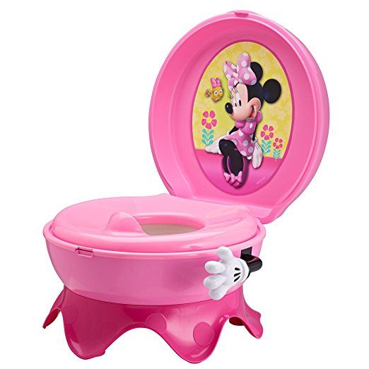 Penico Port?til Para Crian?as The First Years Disney Baby Minnie Mouse 3-In-1 Celebration Potty System