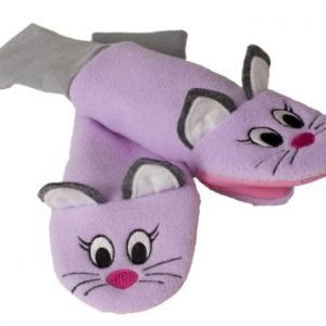 LUVA RESISTENTE A ?GUA SPUTTENS - THE SOCK PUPPET MITTEN COMPANY ROXO STAY ON