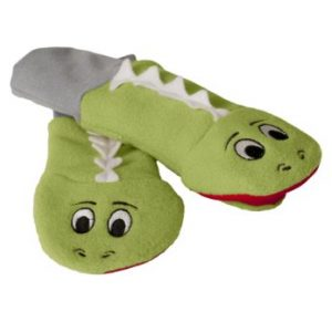 LUVA RESISTENTE A ?GUA SPUTTENS - THE SOCK PUPPET MITTEN COMPANY VERDE STAY ON