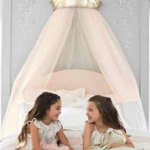 CANOPY MONIQUE  LHUILLIER GOLD POTERRY BARN KIDS