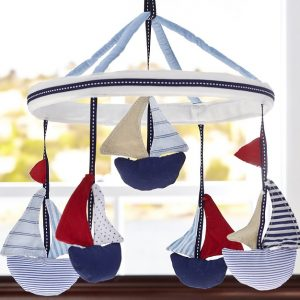 POTERRY BARN KIDS - SAILBOAT RED M?BILE