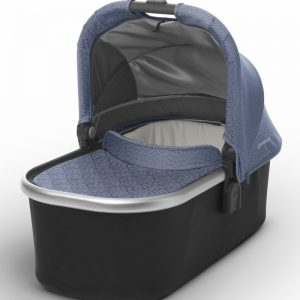 Mois?s UPPAbaby 2017 Bassinet - Henry (Blue Marl/Silver)